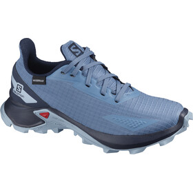 Salomon Alphacross Blast CSWP Buty Dzieci, copen blue/navy blazer/ashley blue